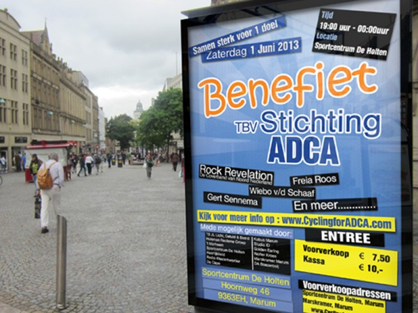 Cycling for ADCA Benefiet